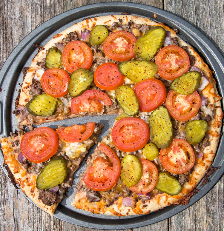 Cheeseburger_Pizza