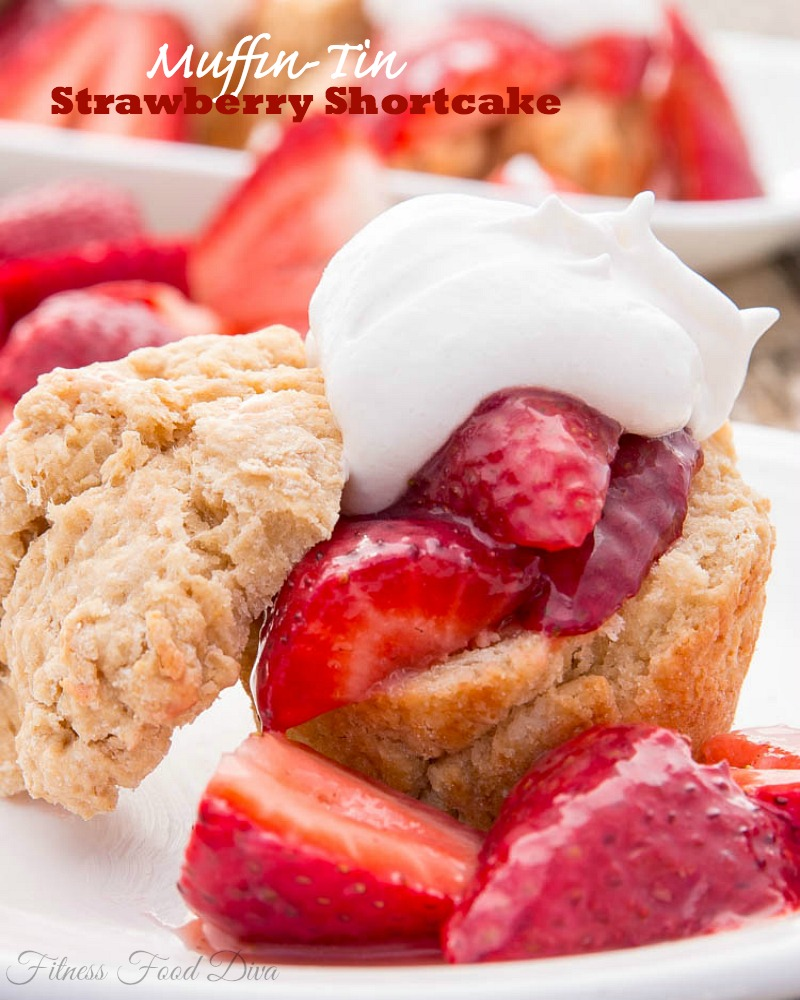 Strawberry Shortcake Muffins Recipe — Dishmaps