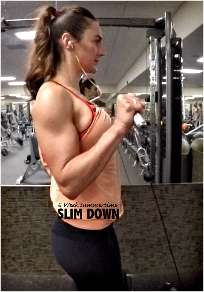 6 WEEKS SUMMERTIME SLIM DOWN PROGRAM
