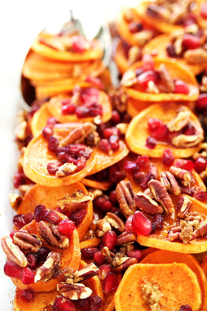 Healthy Sweet Potato Bake