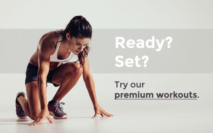 fitness woman sprinter runner preparation
