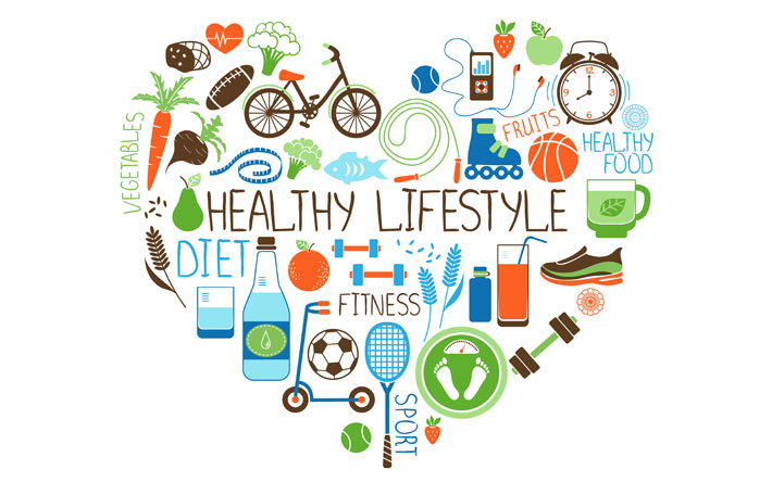 healthy lifestyle food diet fitness sports