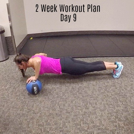 2 week workout plan day 9 legs chest abs  fitness food diva